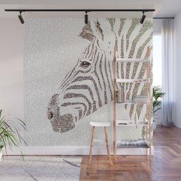 The Intellectual Zebra Wall Mural