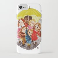 hero iPhone & iPod Cases featuring Hero by Erika Meza