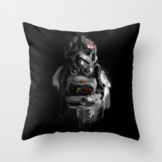Pilot 02 Throw Pillow
