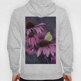Purple ehinacea Hoody