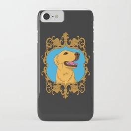 Olliver the Golden Retriever Mix iPhone Case