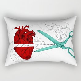 Corto y cambio Rectangular Pillow
