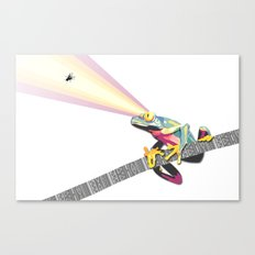 Frog Attack Canvas Print