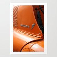 porsche Art Prints featuring Allgaier Porsche by Christine baessler