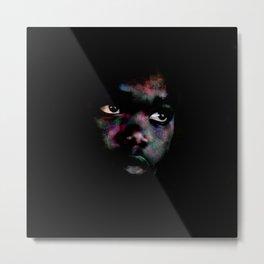 Black & colors Metal Print