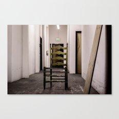 creepy chair Canvas Print