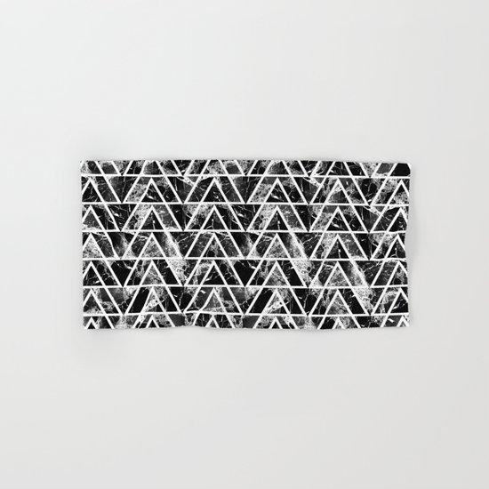 Marble triangles Hand & Bath Towel