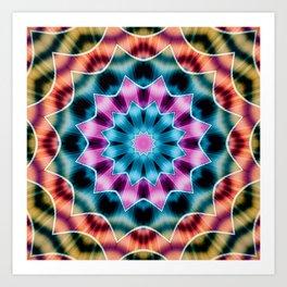 Kaleidoscope_02 Art Print