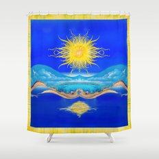 Sacred Sun Shower Curtain