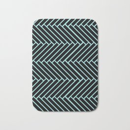 Criss Cross. Bath Mat