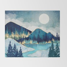 Morning Stars Throw Blanket