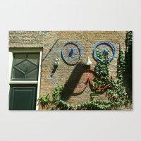 moustache Canvas Prints featuring Moustache by sustici