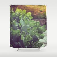 southwest Shower Curtains featuring Southwest Sunset by The Dreamery
