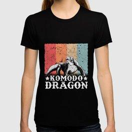 Komodo Dragon Vintage T-shirt