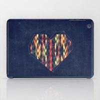 interstellar iPad Cases featuring Interstellar Heart by VessDSign