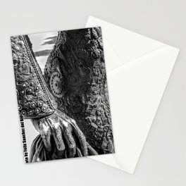 Blood, flowers and guitars Stationery Cards