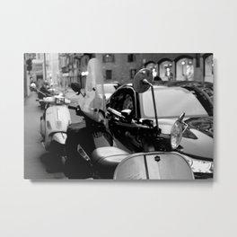 Milan - Motorcycles Metal Print