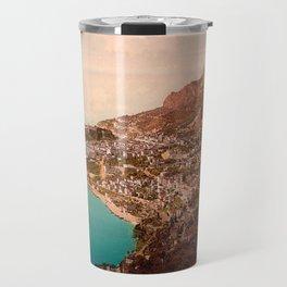 Vintage Principality of Monaco Travel Mug