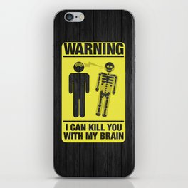 Killing With Mind iPhone Skin