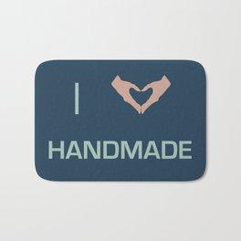 I heart Handmade Bath Mat