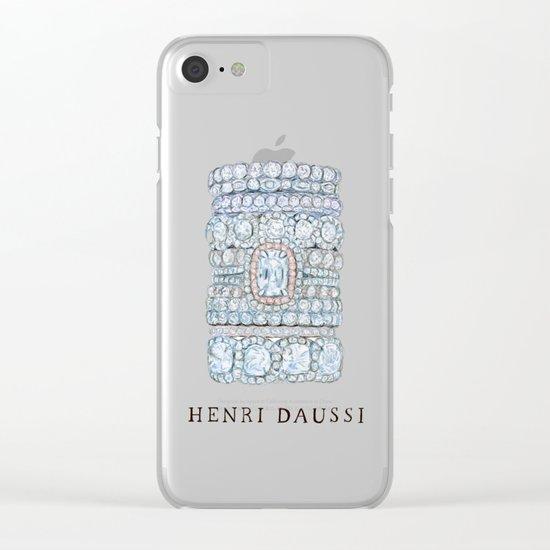 Henri Daussi Clear iPhone Case