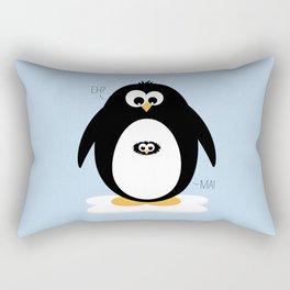 Penguin-egg  Rectangular Pillow