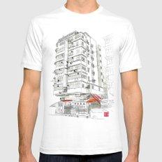 I Love Hong Kong Mens Fitted Tee MEDIUM White