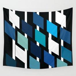 Diamond stripes Wall Tapestry