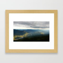 Catskills Sunset Framed Art Print