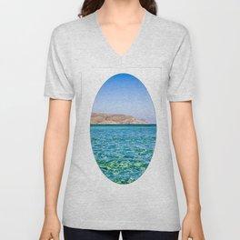 Elafonisi beach Unisex V-Neck