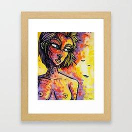"""Chilly"" (Original) Framed Art Print"