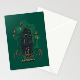 Not with a whimper but with a bang Stationery Cards