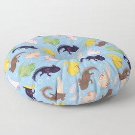 Axolotl Pattern Floor Pillow