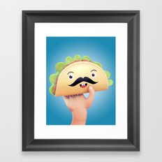 Super Taco! Framed Art Print