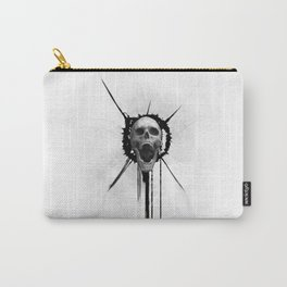 Screeming Skull Carry-All Pouch