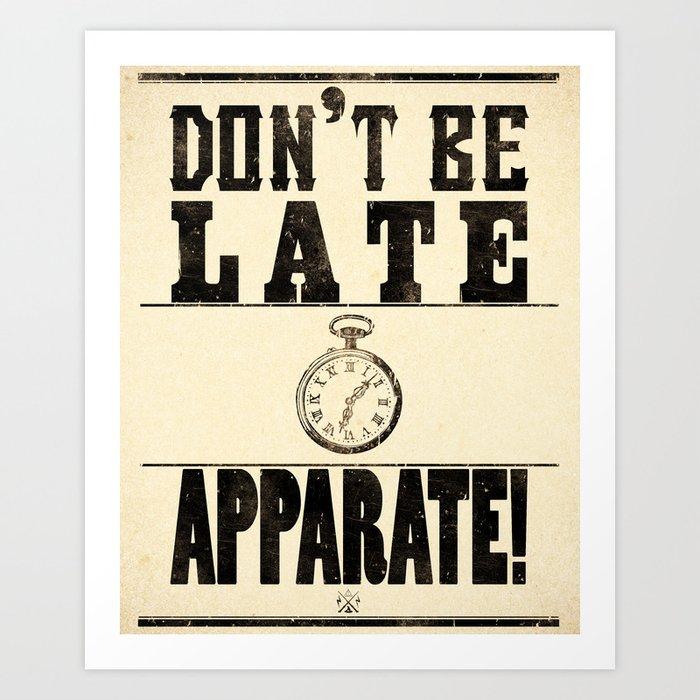 Apparate! Art Print