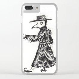 A Dancing Doctor Clear iPhone Case
