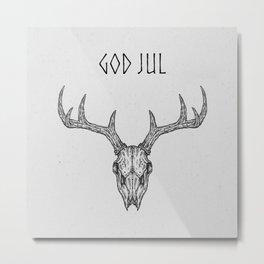 God Jul II Metal Print