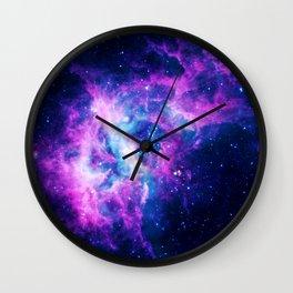 Dream Of Nebula Galaxy Wall Clock
