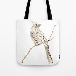Winter Bird, collage Tote Bag