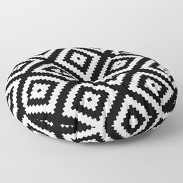 Tribal B&W Floor Pillow