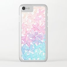 Hydrangea Romance Clear iPhone Case