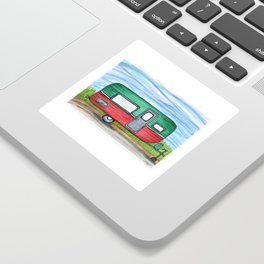 Watermelon Camper Trailer Sticker