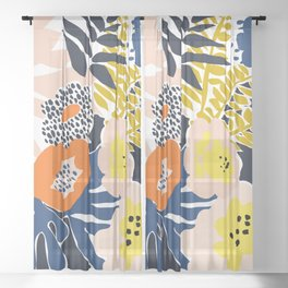 More design for a happy life - high Sheer Curtain