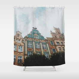 A day in Gdansk Shower Curtain