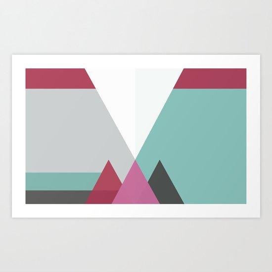 drei schatten Art Print