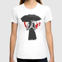 umbrella T-shirts featuring Umbrella by Bill Pyle