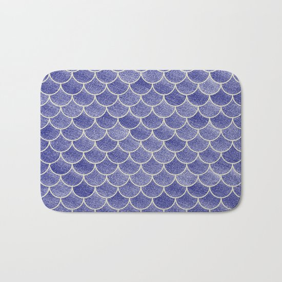 Lovely Pattern IV (Glitter Version) Bath Mat
