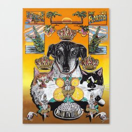 Sunshine State Pets Canvas Print