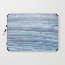 Blue waves abstract painting Laptop Sleeve